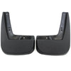 2010 fits Chevy Equinox Mud Flaps Guards Splash Front Molded 2pc Pair