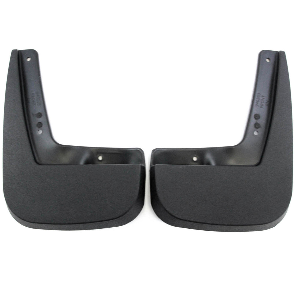 2013 fits Chevy Equinox Mud Flaps Guards Splash Front Molded 2pc Pair