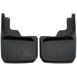 2013 fits Jeep Wrangler JK JKU Mud Flaps Guards Splash Flares Rear Molded 2pc