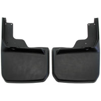 2014 fits Jeep Wrangler JK JKU Mud Flaps Guards Splash Flares Rear Molded 2pc