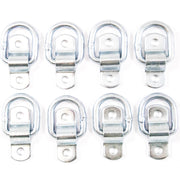 (8) fits 1/4 Rope Rings Tie Down D Rings Cargo Trailer D Ring