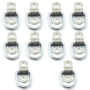 (10) fits 1/4 Rope Rings Tie Down D Rings Cargo Trailer D Ring