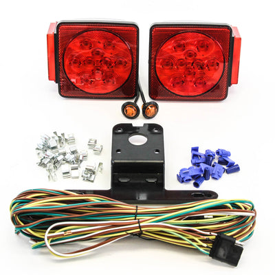LED fits Submersible Square Light Kit Trailer 80