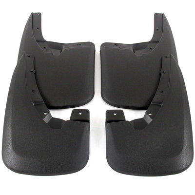 2014 fits Dodge Ram Splash Mud Flaps Guards Front & Rear 4 piece Set (Only Fits Trucks WITHOUT Fender Flares)