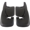 2015 fits Dodge Ram 2500/3500 Splash Mud Flaps Guards Front & Rear 4 piece Set (Only Fits Trucks WITHOUT Fender Flares)