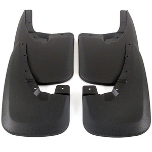 2011 fits Dodge Ram 2500/3500 Splash Mud Flaps Guards Front & Rear 4 piece Set (Only Fits Trucks WITHOUT Fender Flares)