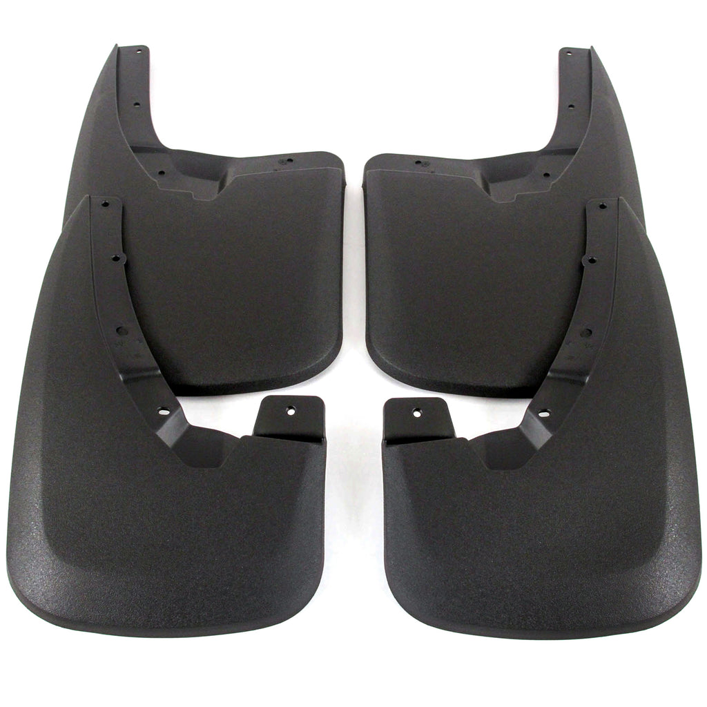 2013 fits Dodge Ram Splash Mud Flaps Guards Front & Rear 4 piece Set (Only Fits Trucks WITHOUT Fender Flares)