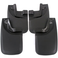 2014 fits Tacoma Mud Flaps Guards Splash Front & Rear 4pc Set (with OEM Fender Flares)