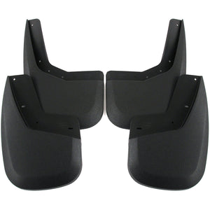 2012 fits GMC Sierra 1500 Mud Flaps Guards Splash Front & Rear 4pc Set (2007 includes new body style only)