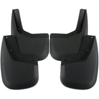 2013 fits GMC Sierra 2500/3500 Mud Flaps Guards Splash Front & Rear 4pc Set (2007 includes new body style only)