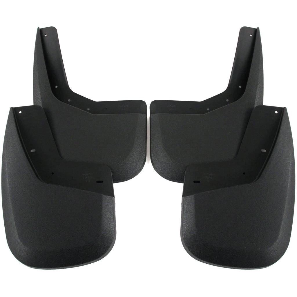2009 fits GMC Sierra 1500 Mud Flaps Guards Splash Front & Rear 4pc Set (2007 includes new body style only)
