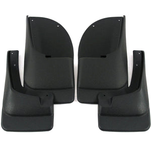 2002 fits Ford Excursion Mud Flaps Guards Splash Front Rear 4pc Set (Without Fender Flares)