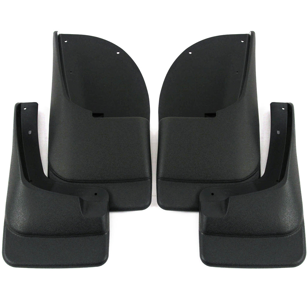 2005 fits Ford F250 F350 Mud Flaps Guards Splash Front Rear 4pc Set (Without Fender Flares)