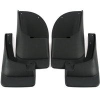 2005 fits Ford Excursion Mud Flaps Guards Splash Front Rear 4pc Set (Without Fender Flares)