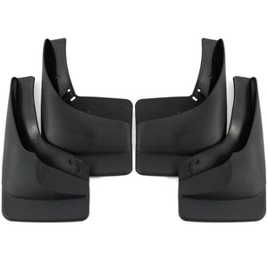 2001 fits Silverado/Sierra 2500/3500 Mud Flaps Guards Splash (With OEM Flares) Front and Rear 4 Piece Set