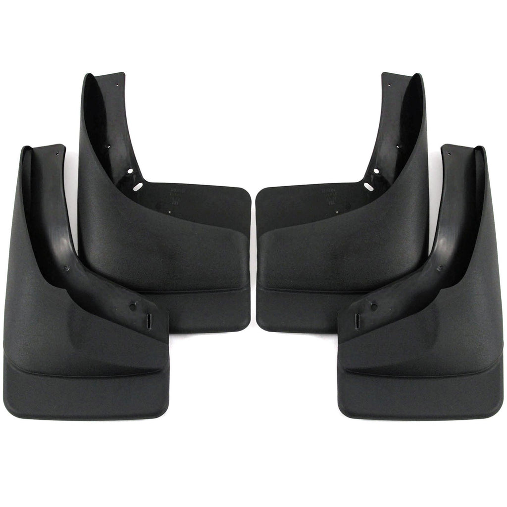 2002 fits Avalanche Mud Flaps Guards Splash (With OEM Flares) Front and Rear 4 Piece Set