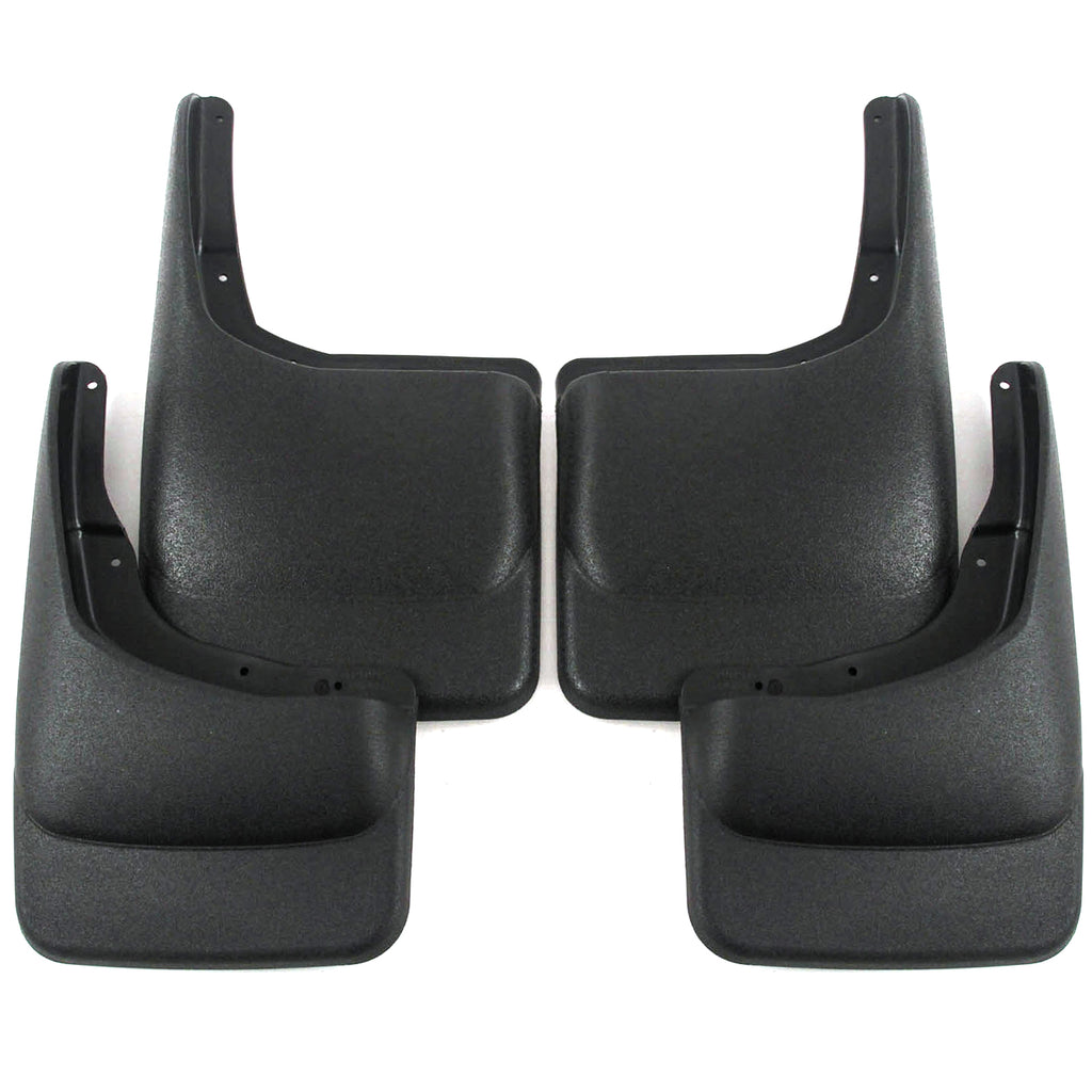 2013 fits Ford F150 Mud Flaps Guards Splash Front Rear 4pc Set (Without Fender Flares)