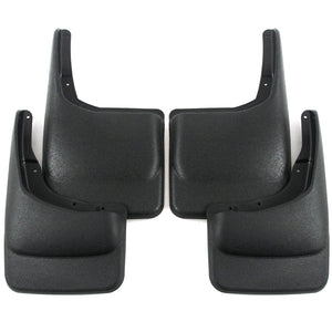 2004 fits Ford F150 Mud Flaps Guards Splash Front Rear 4pc Set (Without Fender Flares)