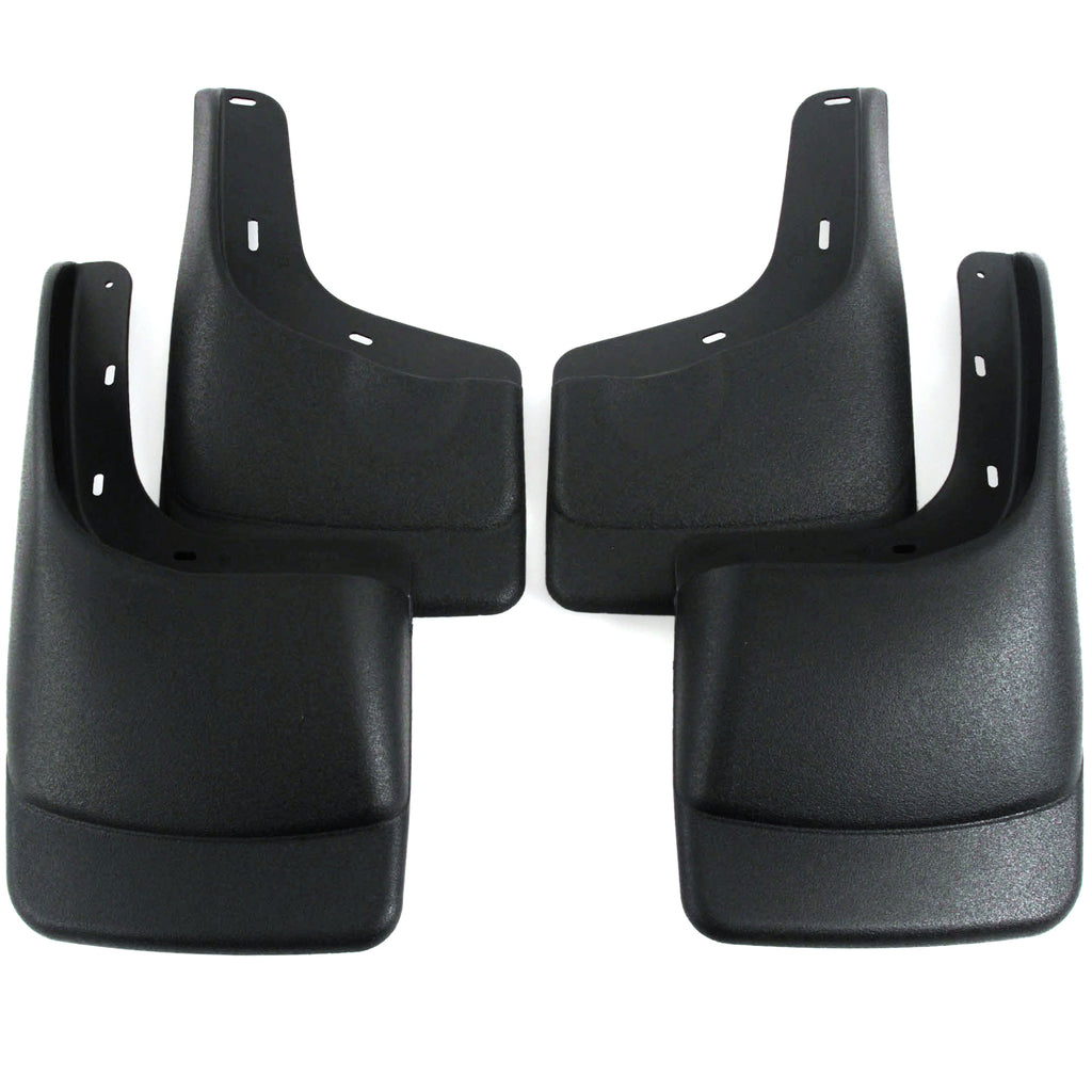 2005 fits Ford F150 Mud Flaps Guards Splash Front & Rear 4pc Set (ONLY FITS With OEM Fender Flares)