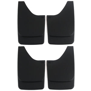 Premium fits Heavy Duty Molded Universal Mud Flaps Guards Splash Front and Rear Set 4pc