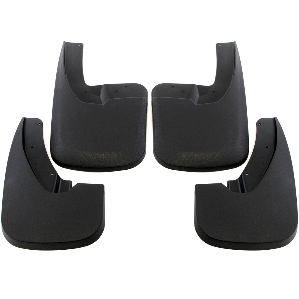 2011 fits Dodge Ram 1500 Mud flaps (With OEM Fender Flares) Front and Rear 4 piece Set