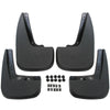 2011 fits Chevy Equinox Mud Flaps Mud Guards Splash Guards Front Rear Molded 4pc