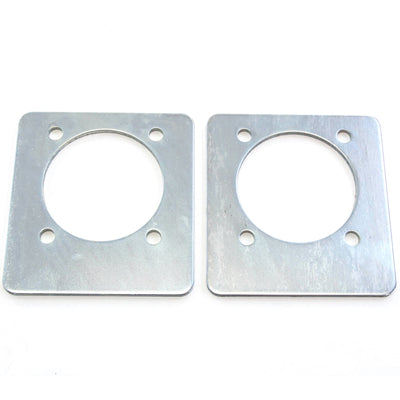2) fits Backing Plate Mounting Plates for D Ring Plate Tie Down Recessed