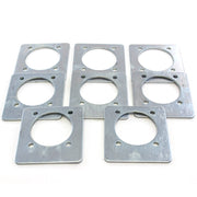 8) fits Backing Plate Mounting Plates for D Ring Plate Tie Down Recessed