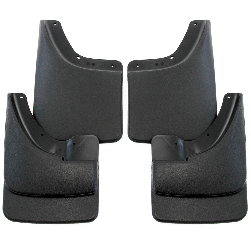 2008 fits Dodge Ram 1500 Mud Flaps Guards Splash For Trucks WITHOUT Fender Flares Front & Rear 4pc Set