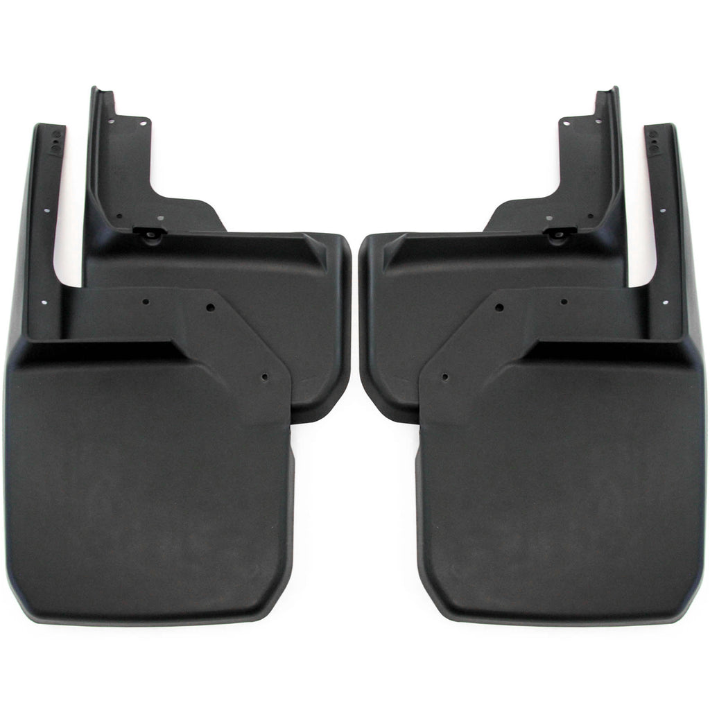 2011 fits Jeep Wrangler JK JKU Mud Flaps Guards Splash Flares Front Rear 4pc Set