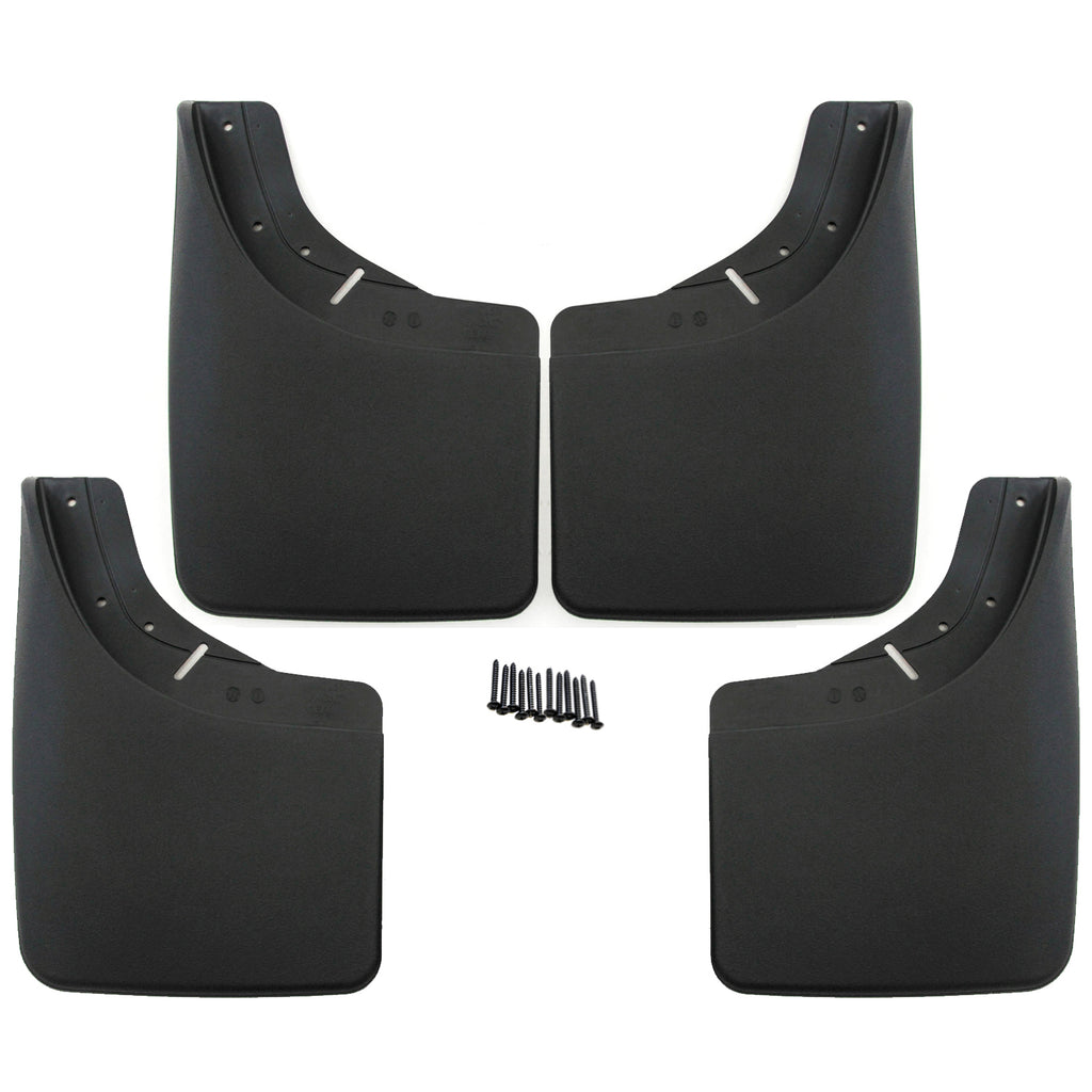 1992 fits Chevrolet/GMC C3500/K3500 Mud Flaps Guards Splash Front Rear 4pc