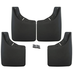 1993 fits GMC Yukon Mud Flaps Guards Splash Front Rear 4pc