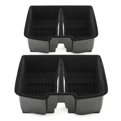 2010 fits Avalanche Suburban Tahoe,Yukon, Suburban 2500, Silverado/Sierra Center Front Floor Console Organizer for Full Size - qty 2