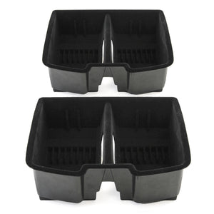 2008 fits Avalanche Suburban Tahoe,Yukon, Suburban 2500, Silverado/Sierra Center Front Floor Console Organizer for Full Size - qty 2