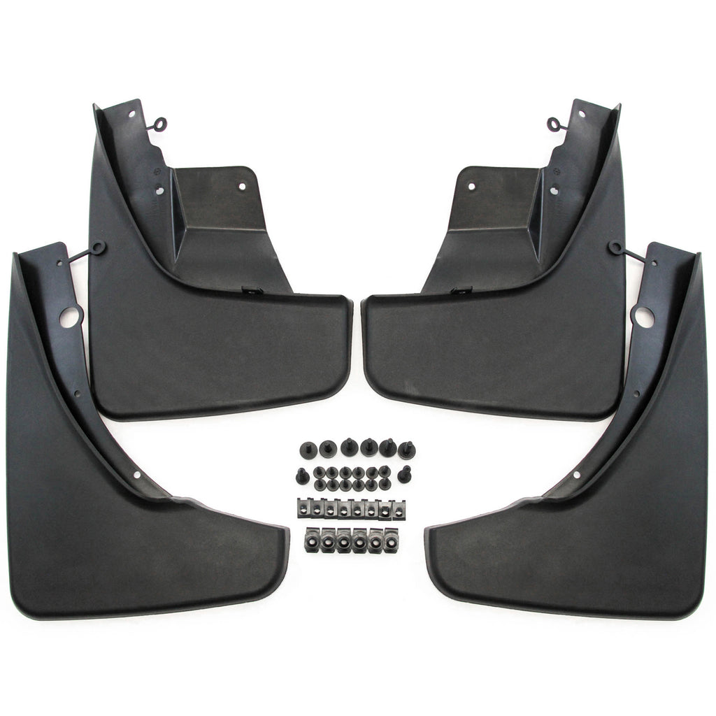 2015 fits Jeep Grand Cherokee Mud Flaps Mud Guards Splash Molded Front Rear 4pc