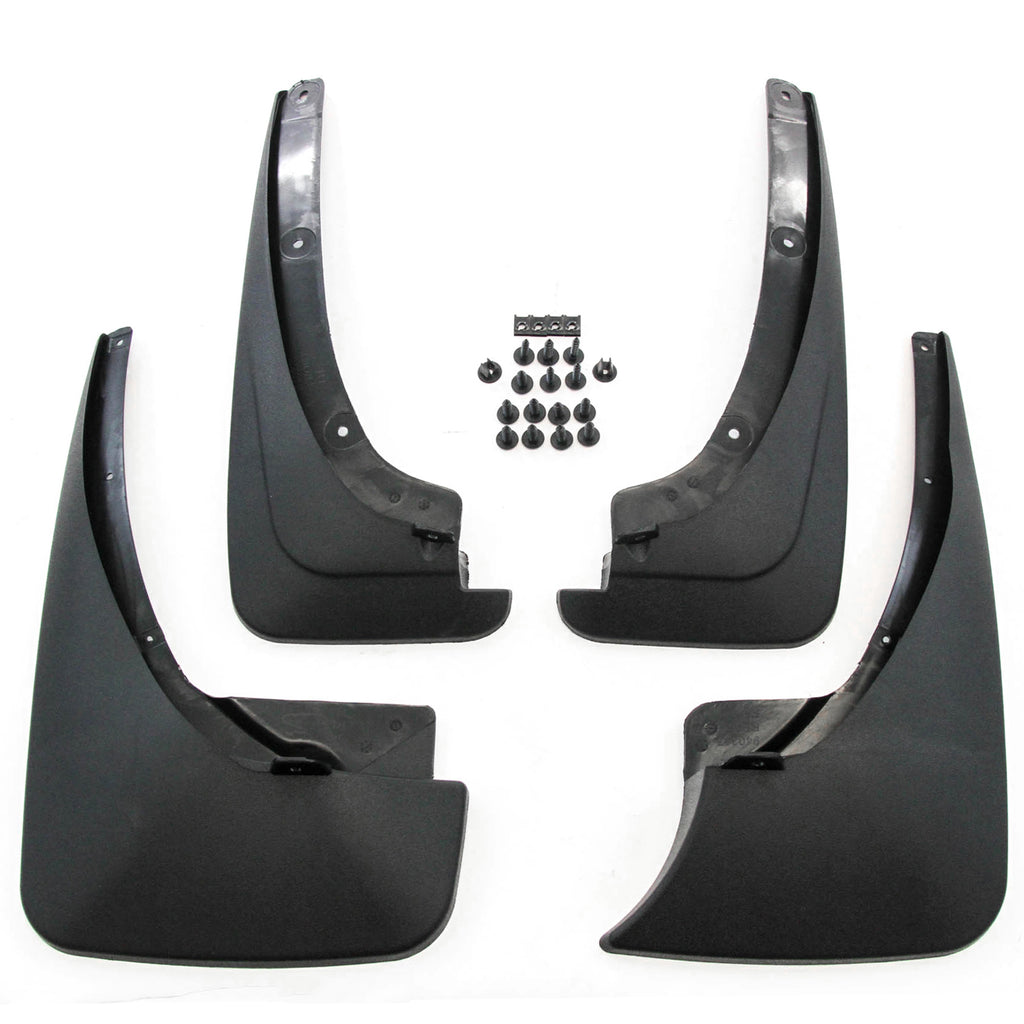 2009 fits Toyota RAV4 Mud Flaps Guards Splash Front and Rear Without Flares 4pc