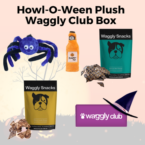 Howl-O-Ween Plush Waggly Club Box