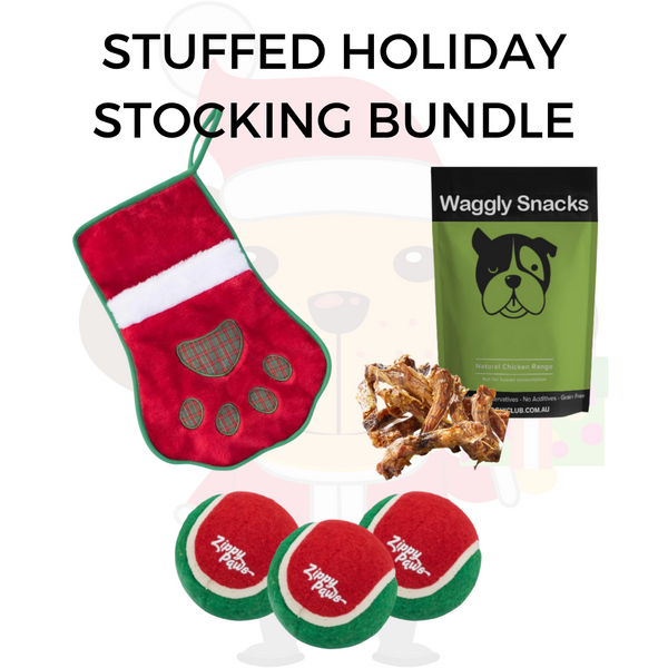 Stuffed Holiday Stocking Bundle