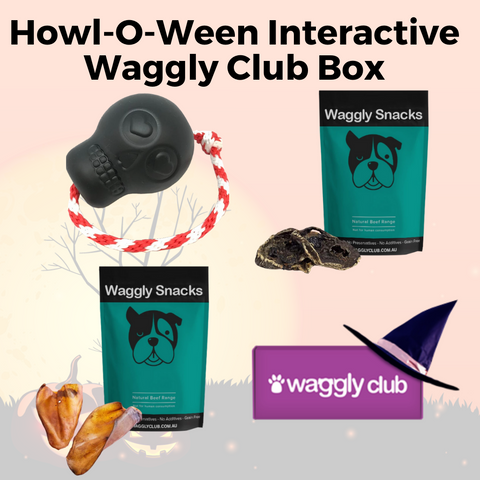 Howl-O-Ween Interactive Waggly Club Box