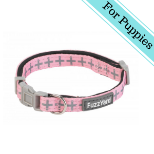 FuzzYard North Yeezy Puppy Collar Extra Small Pink