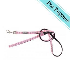 FuzzYard North Yeezy Puppy Lead Extra Small Pink