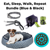 Eat, Sleep, Walk, Repeat Bundle (Blue & Black)