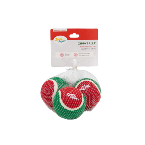 Holiday ZippyBallz 3-Pack