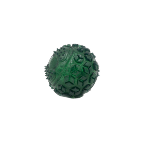 Holiday ZippyTuff Squeaker Ball Green