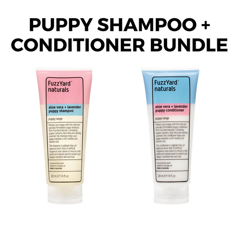 Puppy Shampoo + Conditioner Bundle