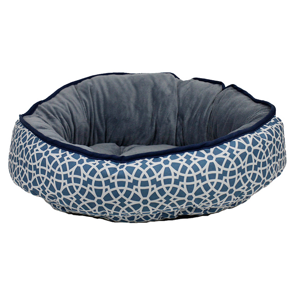 Marrakesh Grey Reversible Dog Bed