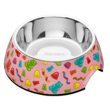 Jelly Bears Dog Bowl