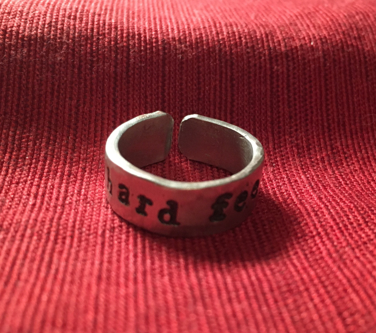 ring agla of side kaballah qaballah rings pewter jewelry god word seals