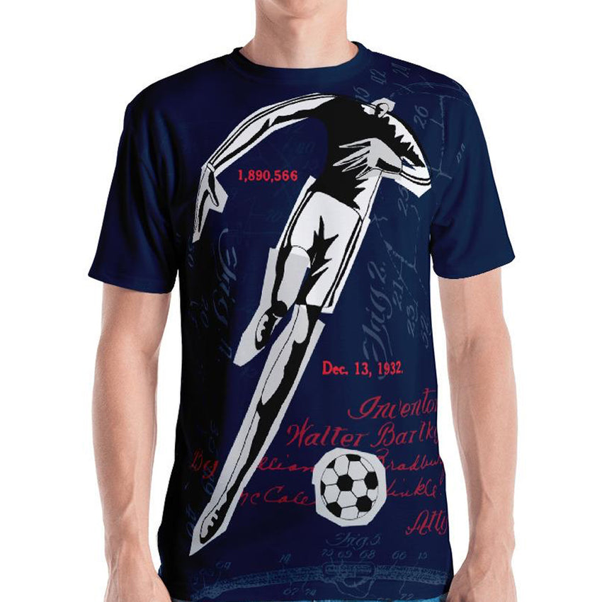 GoOOOAL! FRANCE • Soccer Patent Series Men's T-Shirt - Chosen Tees