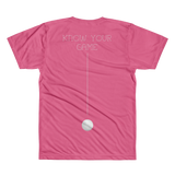 PATENT Golf Club • Fellas - Front & Back All Over Print C©oL Pink T-Shirt - Chosen Tees